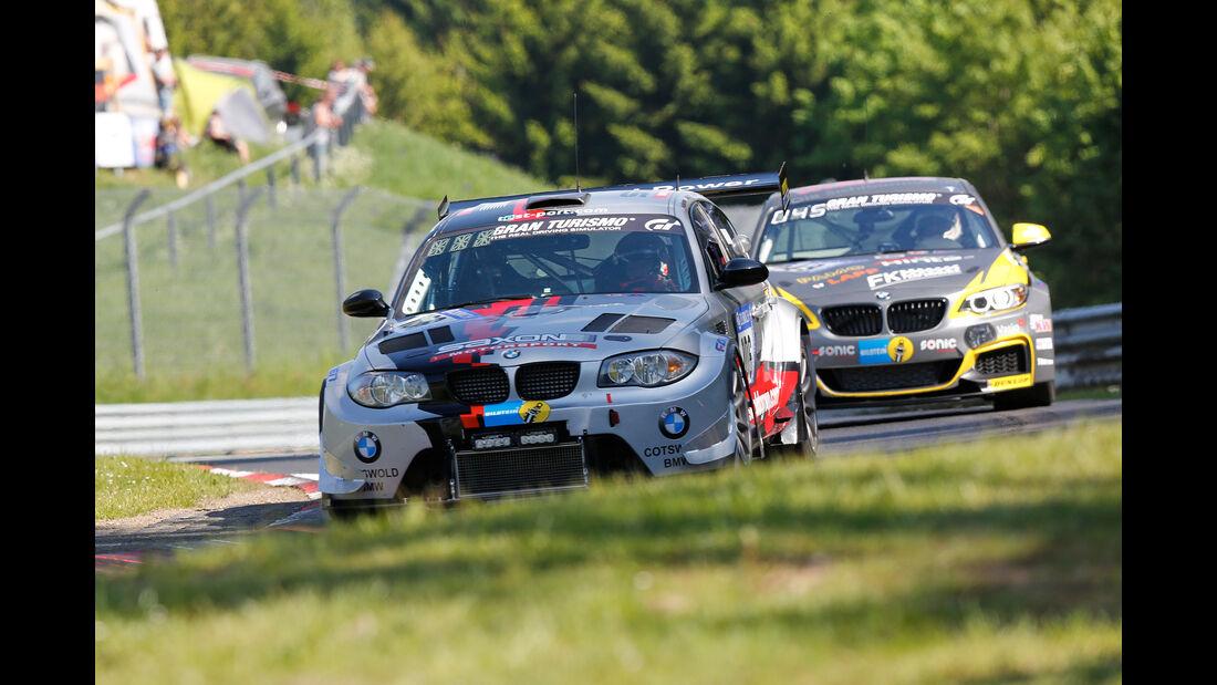 BMW 135D GTR - Freies Training - 24h-Rennen Nürburgring 2017 - Nordschleife