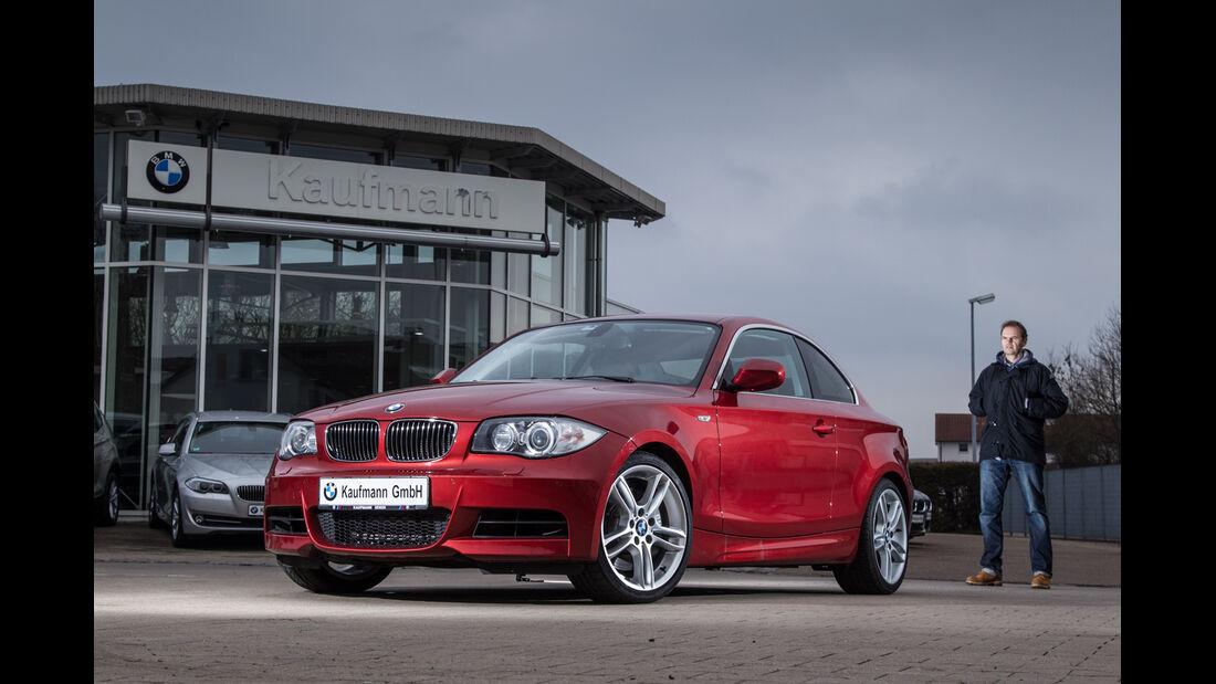 BMW 135i Coupé, Frontansicht, Händler
