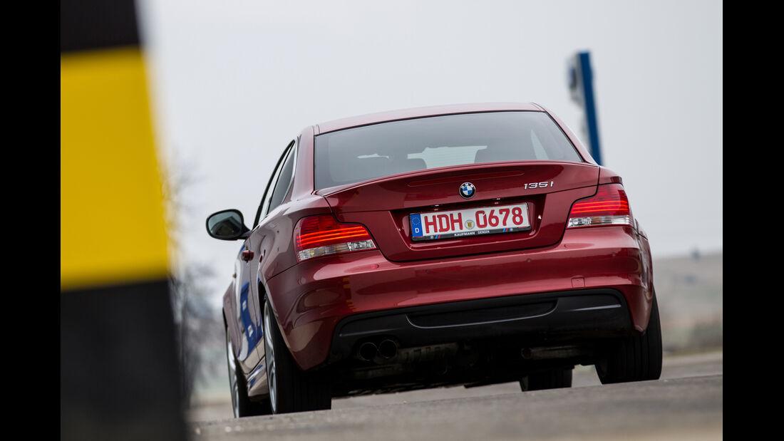 BMW 135i Coupé, Heckansicht