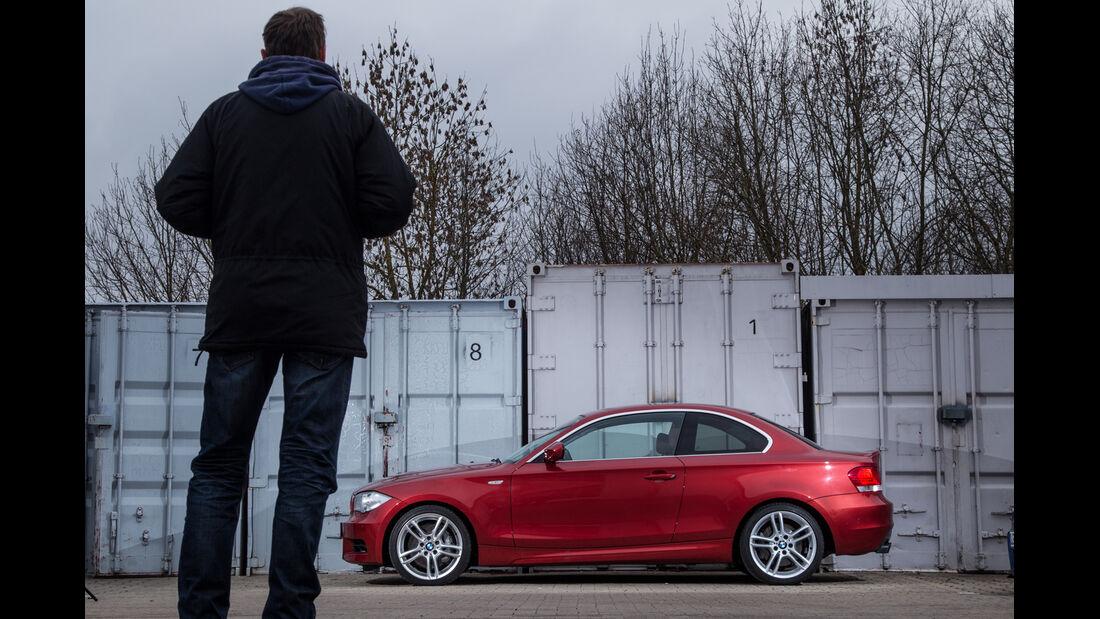 BMW 135i Coupé, Seitenansicht