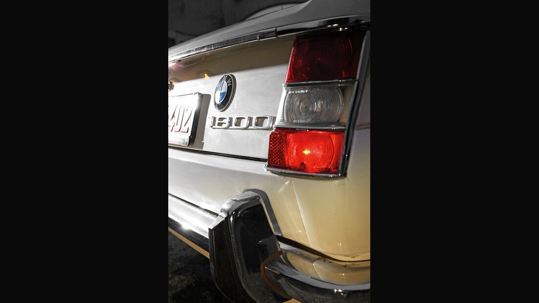 BMW 1500–2000, Heckleuchte, Typenbezeichnung