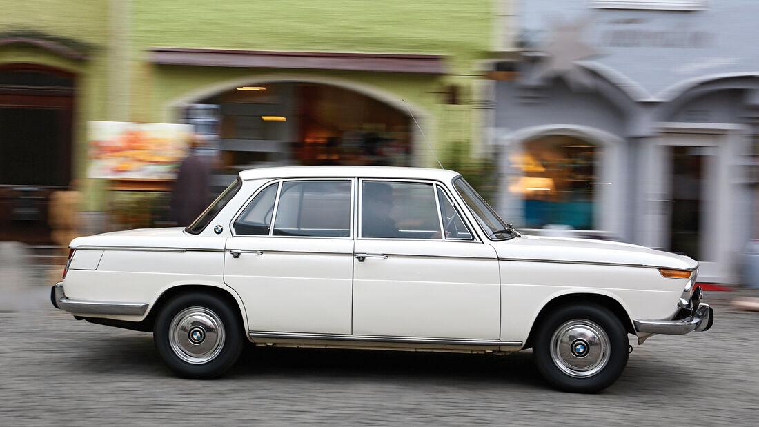 BMW 1500–2000, Seitenansicht