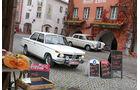 BMW 1800, Mercedes 200, Seitenansicht