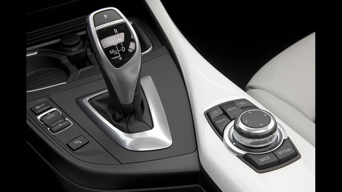 BMW 1er, 2011, Achtgang-Automatik, Wählhebel