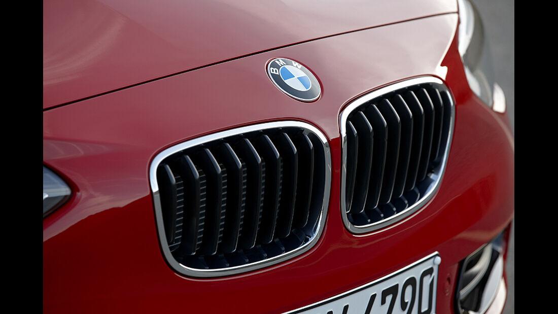 BMW 1er, 2011, Doppelniere, Kühlergrill