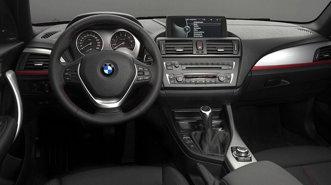 BMW 1er, 2011, Innenraum, Cockpit, Sport Line