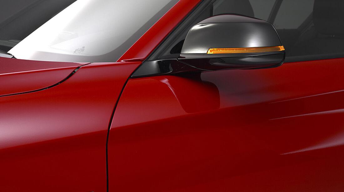 BMW 1er, 2011, Sport Line, Außenspiegel