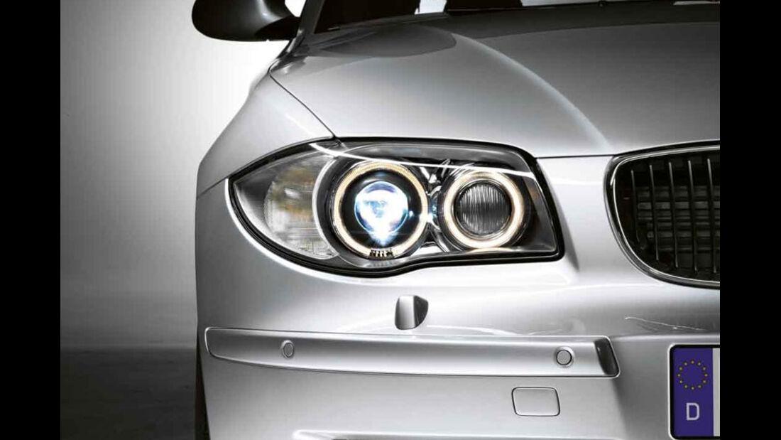 BMW 1er, Bixenon-Scheinwerfer