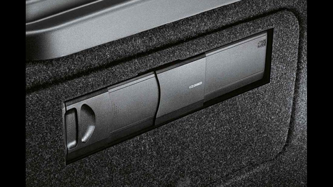 BMW 1er, CD-Wechsler