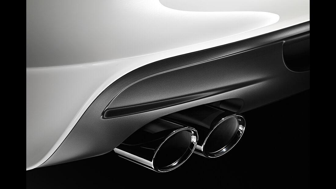 BMW 1er Cabrio, Facelift, 2011, Auspuff