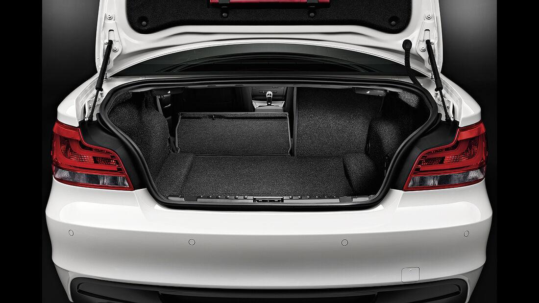 BMW 1er Cabrio, Facelift, 2011, Kofferraum