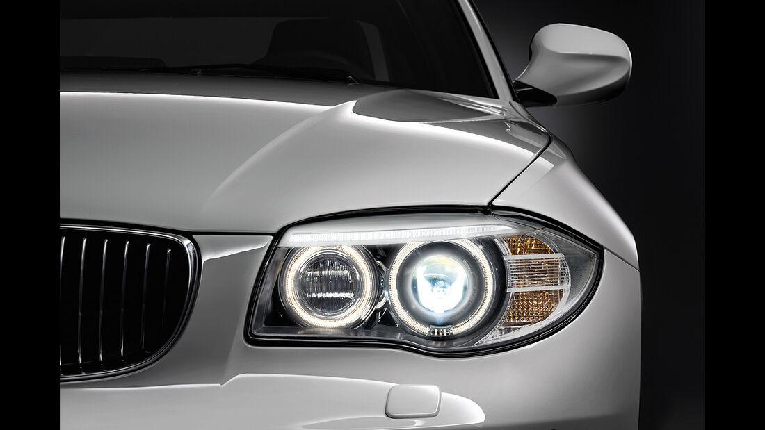 BMW 1er Cabrio, Facelift, 2011, Scheinwerfer, LED-Tagfahrlicht