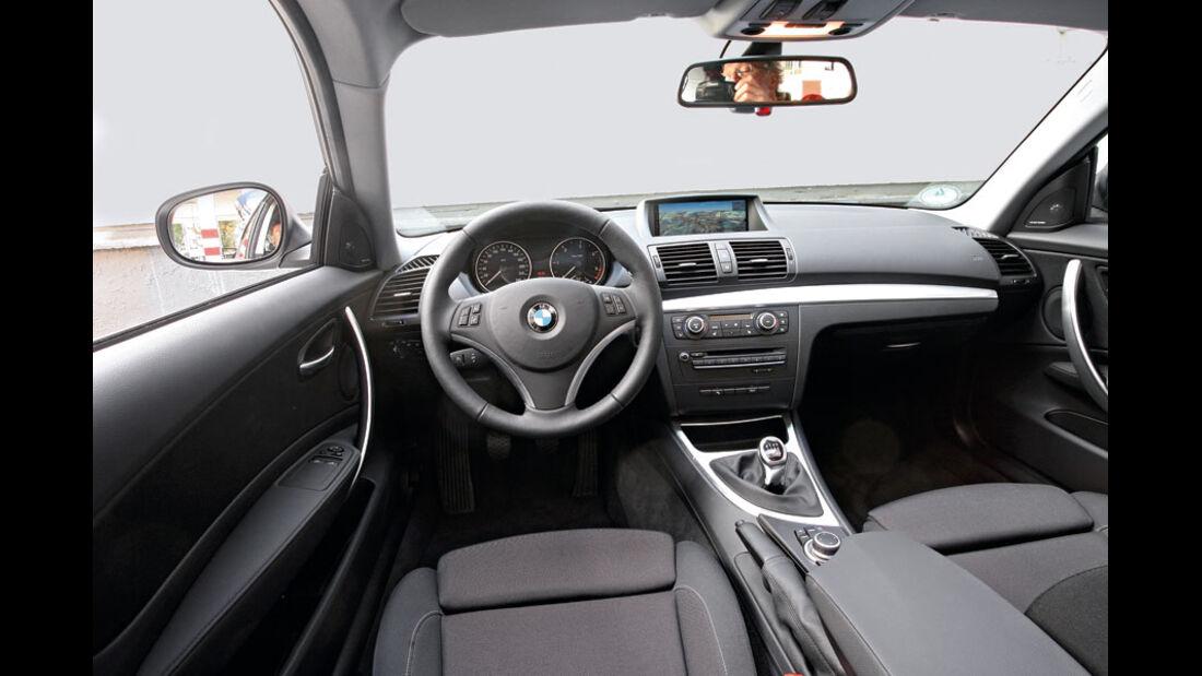 BMW 1er, Cockpit, Innenraum