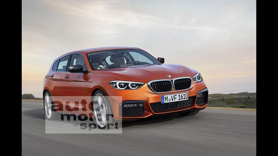 BMW 1er Computer-Retusche