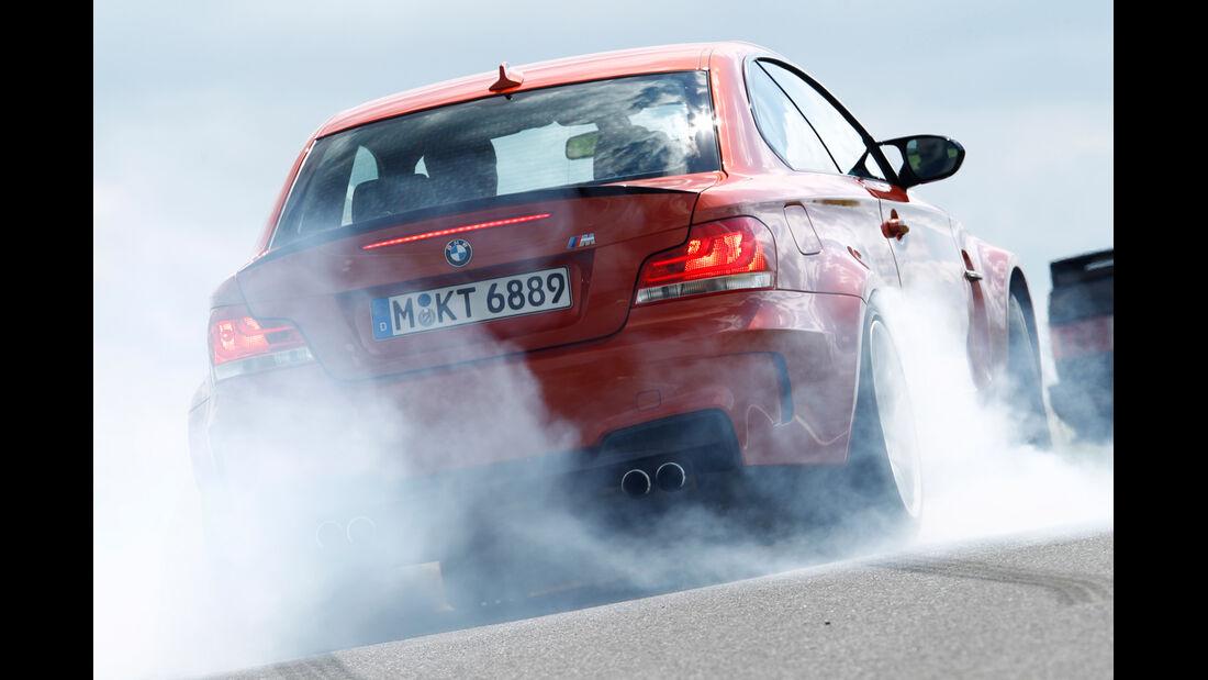 BMW 1er Coupé, Burnout