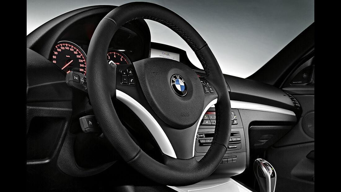 BMW 1er Coupé, Facelift, 2011, Lenkrad