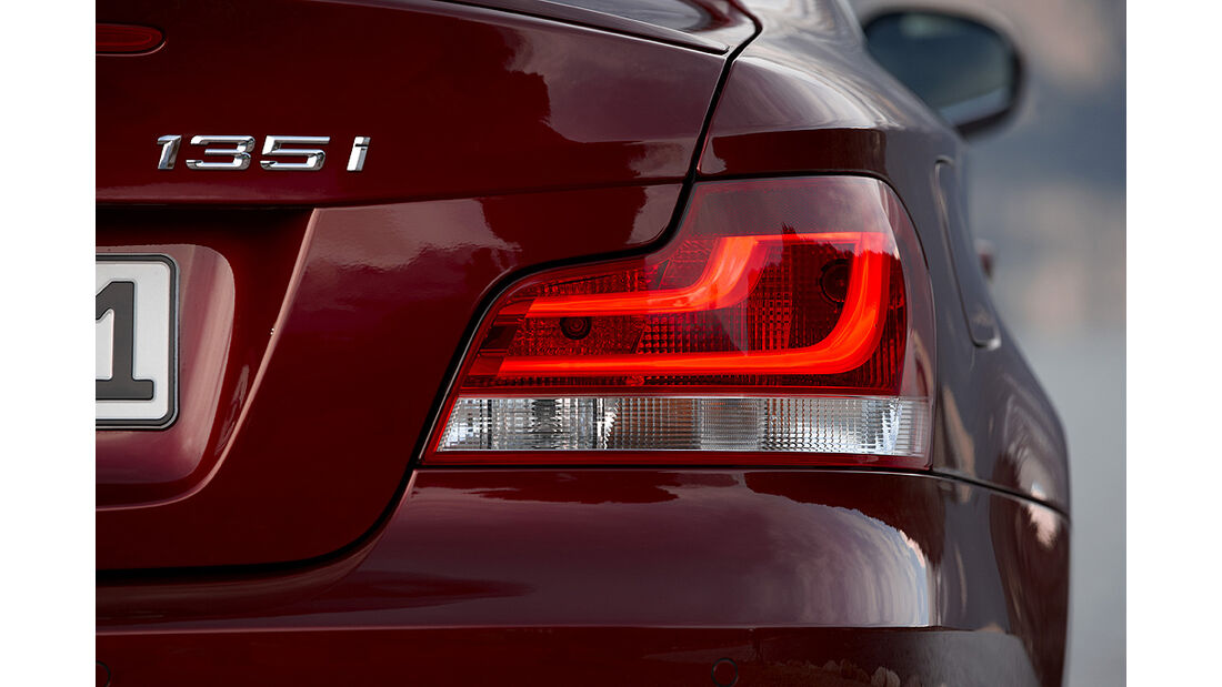 BMW 1er Coupé, Facelift, 2011, Rückleuchte, Heckleuchte