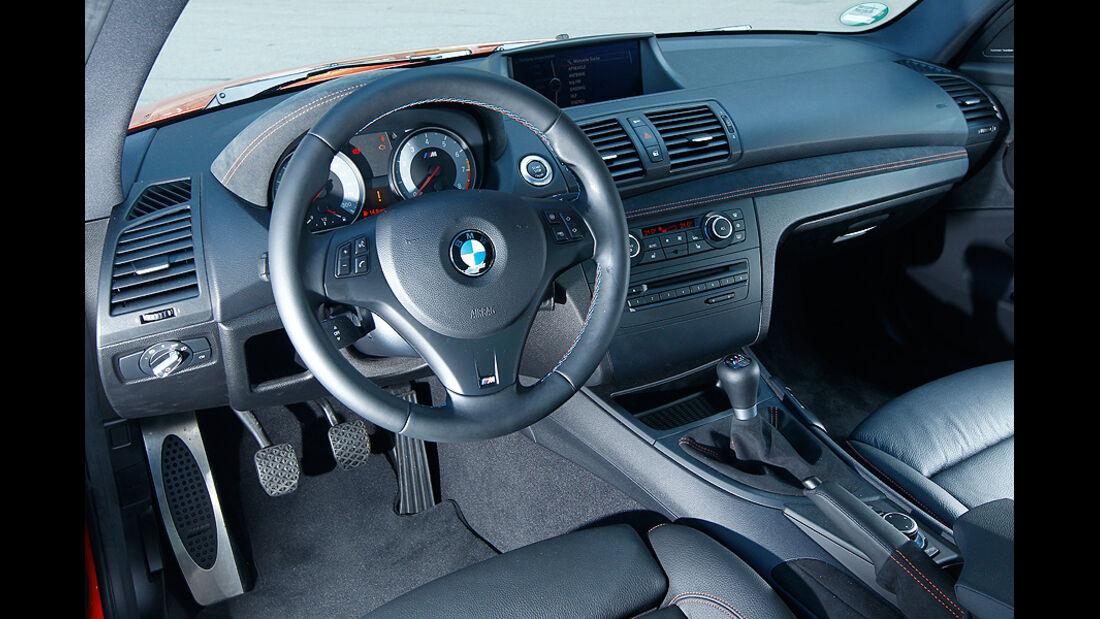 BMW 1er Coupe, Cockpit, Lenkrad
