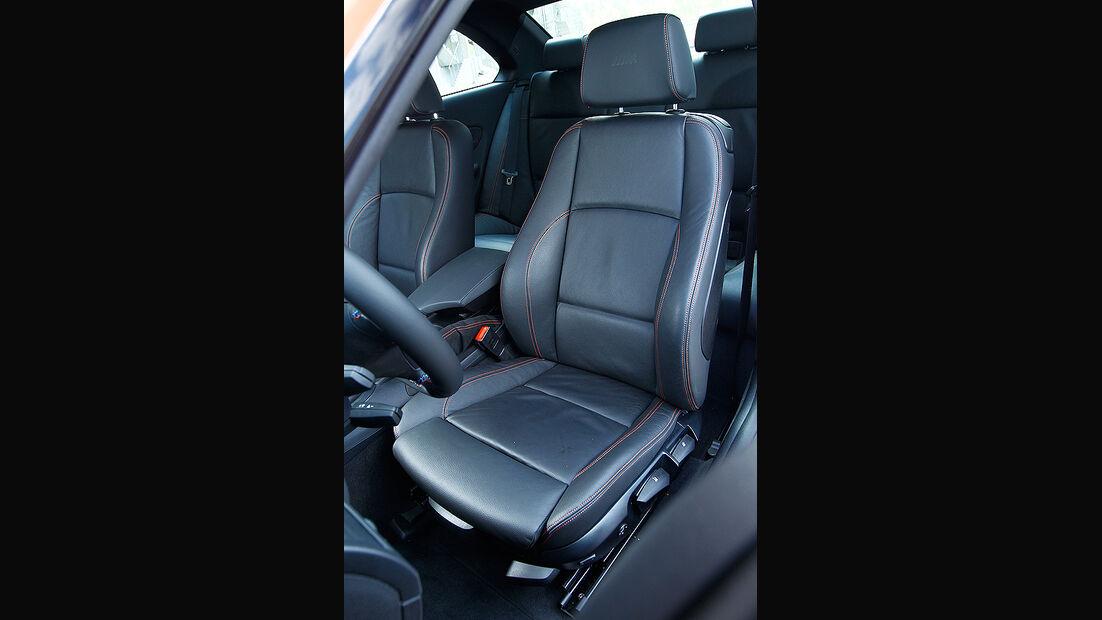 BMW 1er Coupe, Detail, Fahrersitz