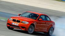 BMW 1er Coupe, RŸckansicht, Teststrecke, Bremsverhalten