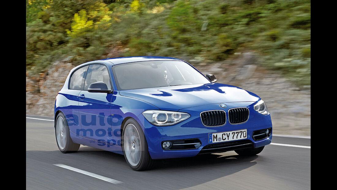 BMW 1er, Dreitürer