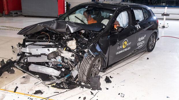 BMW 1er EuroNCAP Crashtest