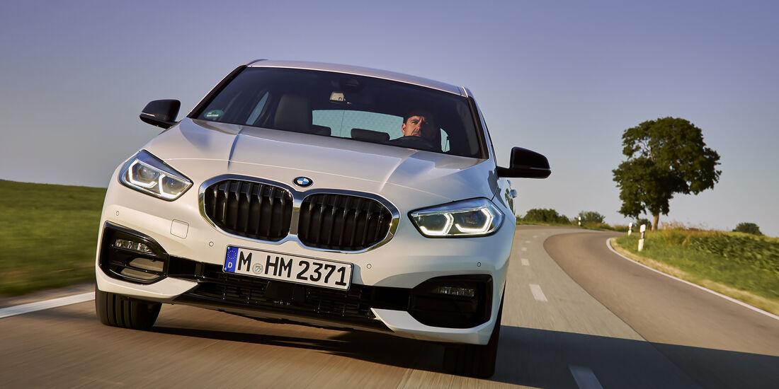 Bmw 1er 2019 Im Fahrbericht Auto Motor Und Sport