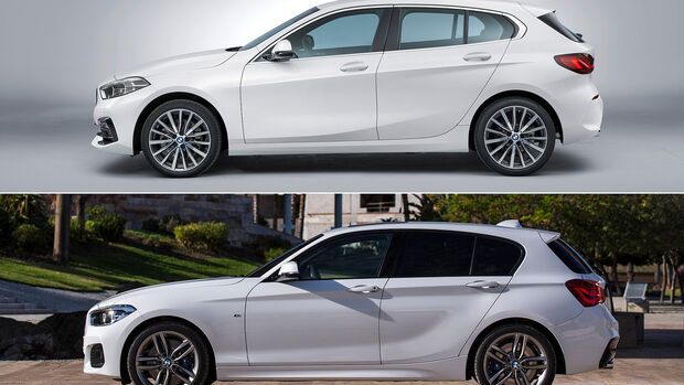 BMW 1er F40 und F20 Vergleich, Seite