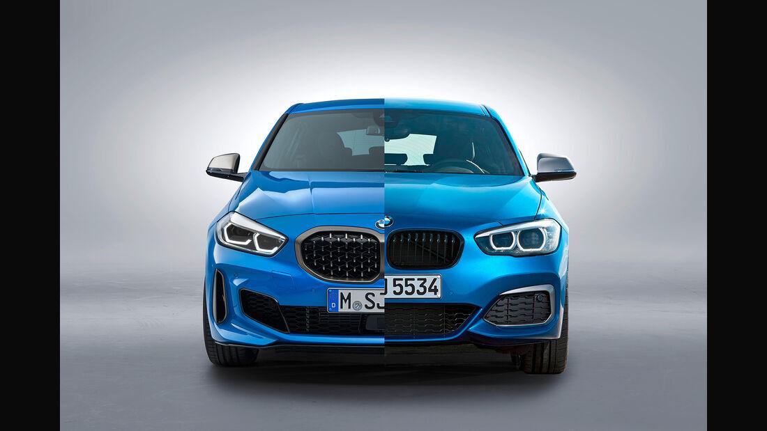 Spiksplinternieuw BMW 1er F40 und F20 im Vergleich: Ist quer verkehrt? - auto motor KV-17