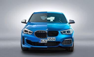 BMW 1er F40 und F20 Vergleich