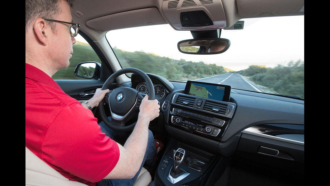BMW 1er Facelift 2015, Cockpit