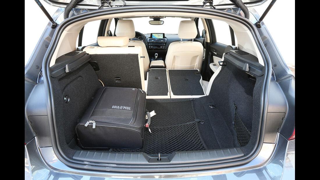 BMW 1er Facelift 2015, Kofferraum