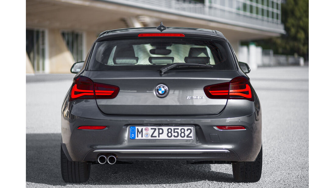 BMW 1er Facelift, ams2015, Hersteller
