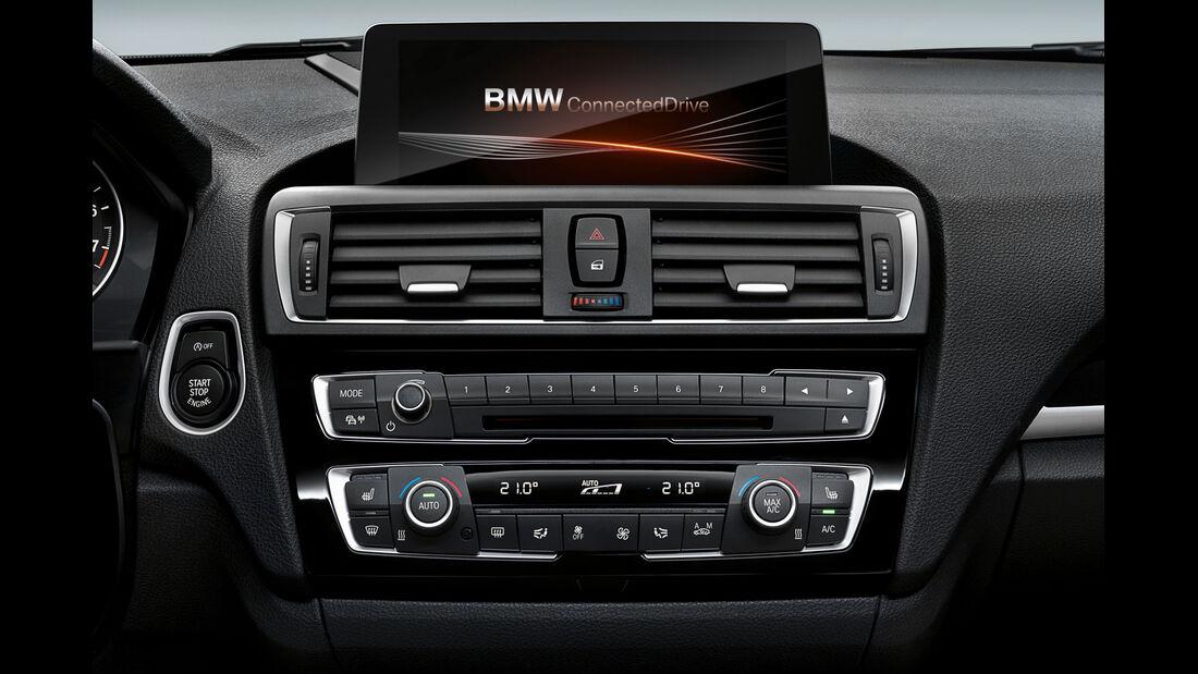 BMW 1er Facelift, ams2015, Hersteller, Armatur