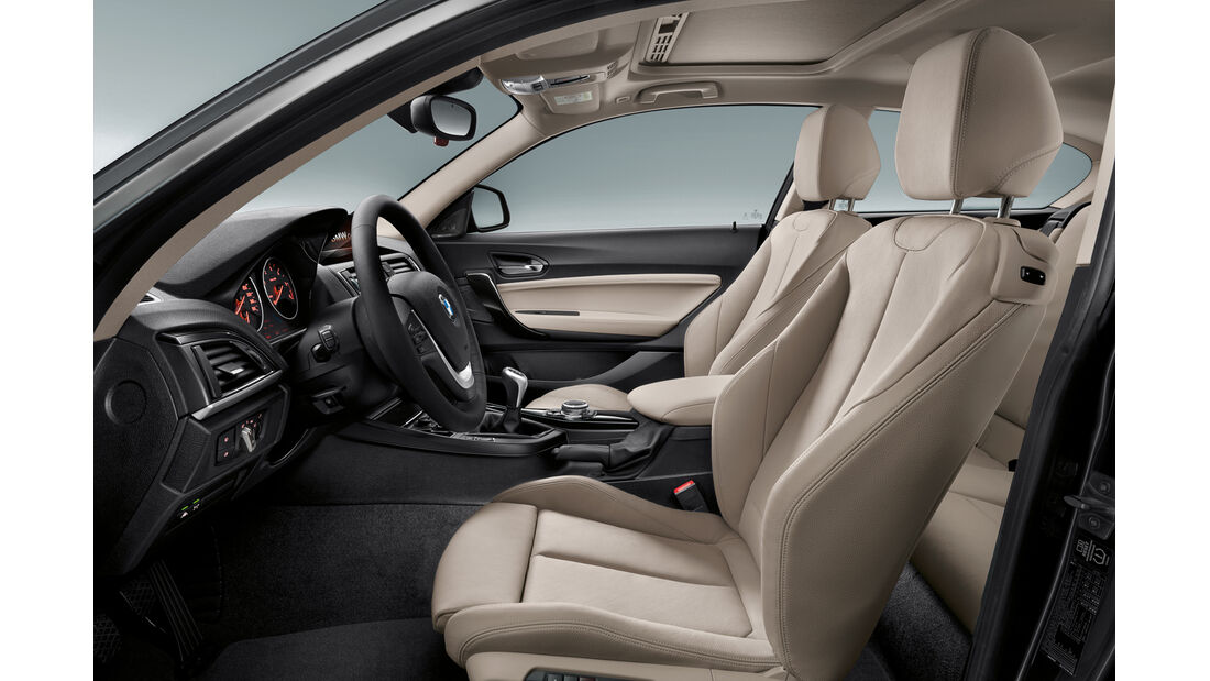 BMW 1er Facelift, ams2015, Hersteller, Cockpit
