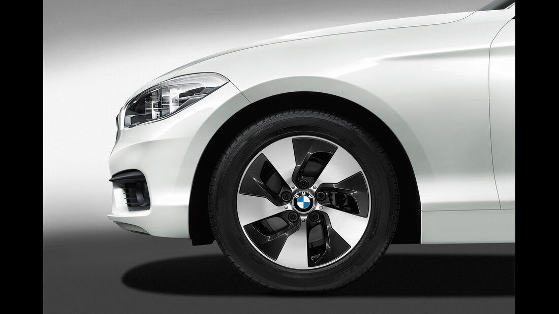 BMW 1er Facelift, ams2015, Hersteller, Rad