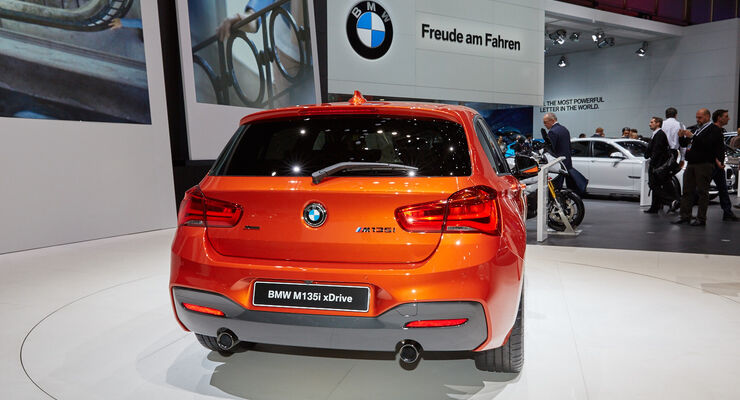 BMW 1er Facelift in Genf