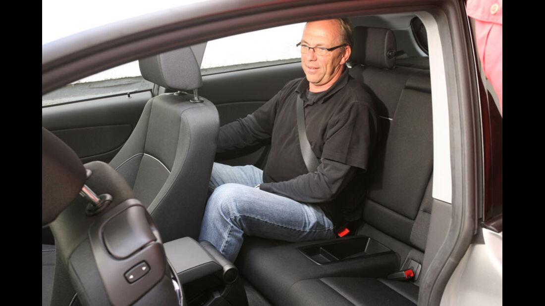 BMW 1er, Fond, Rückbank