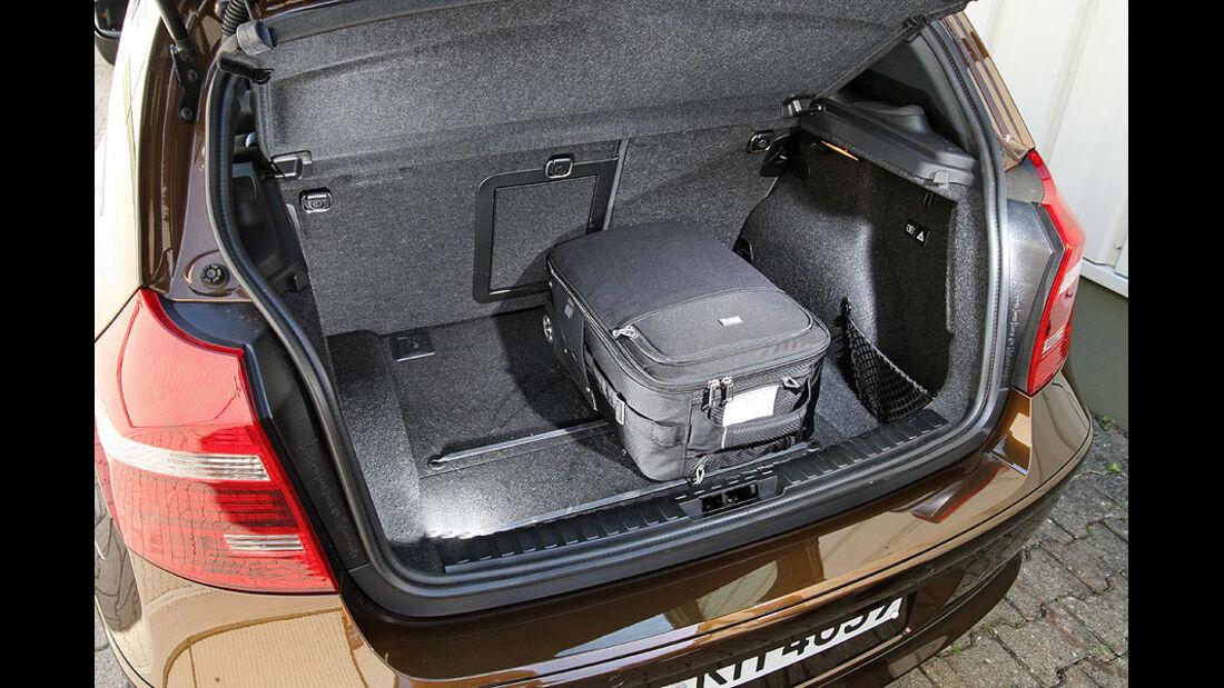BMW 1er Kofferraum