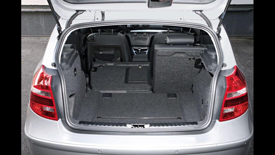 BMW 1er, Kofferraum