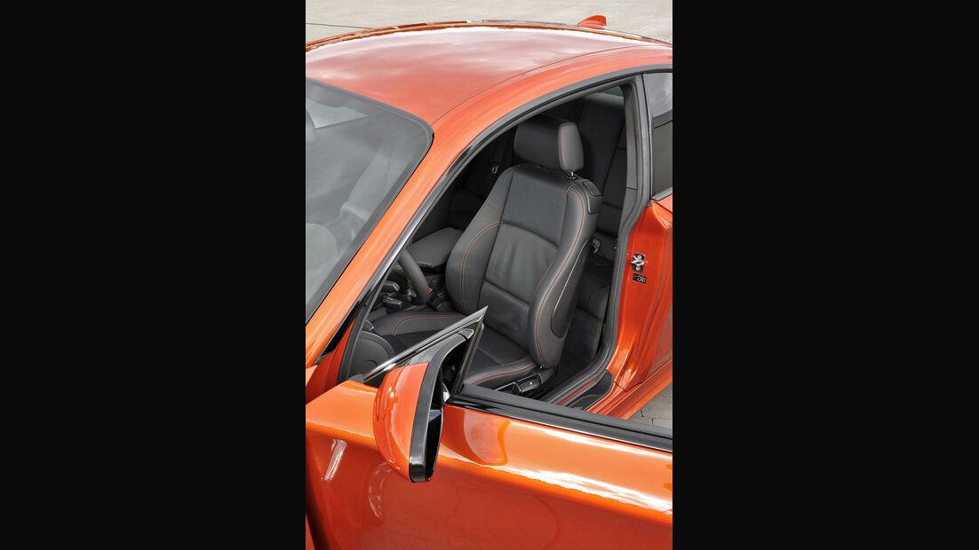 BMW 1er M Coupé, Fahrersitz