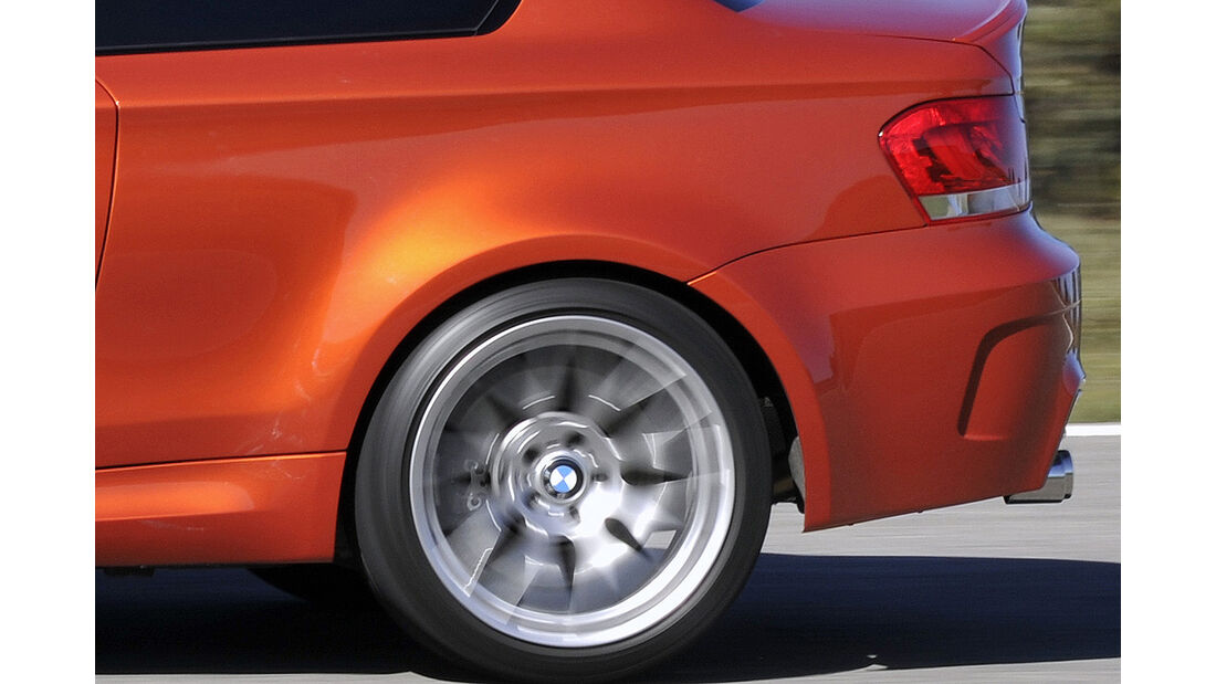 BMW 1er M Coupé, Felge