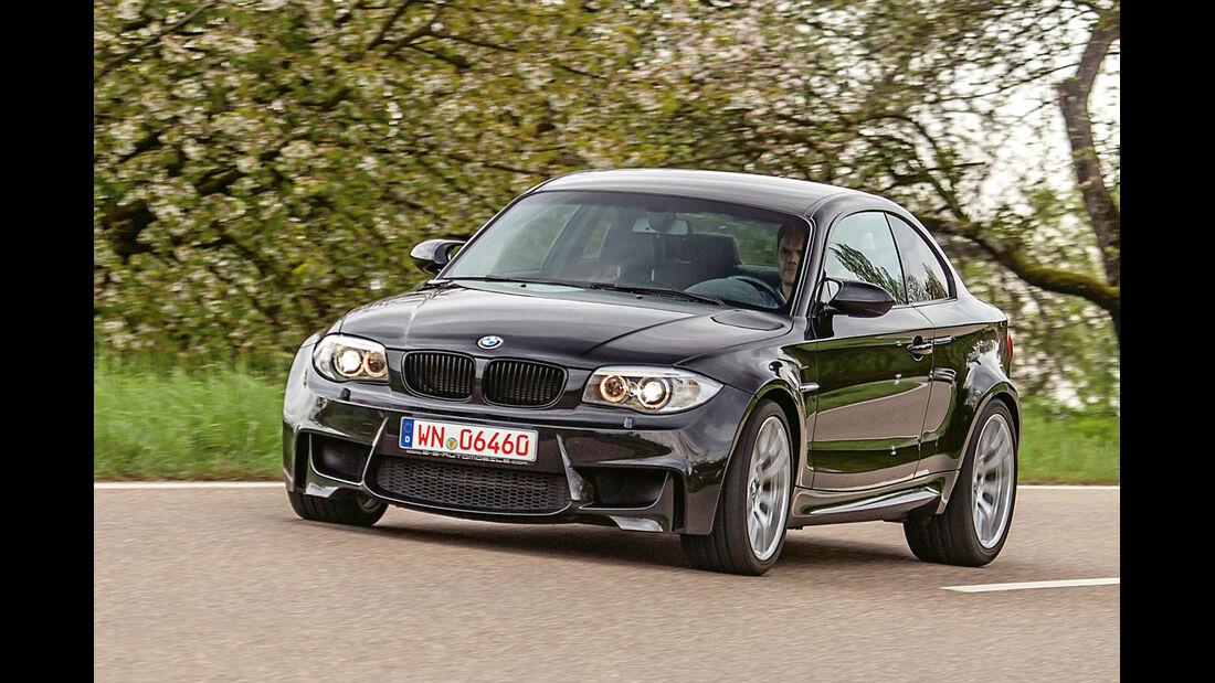BMW 1er M Coupé, Frontansicht