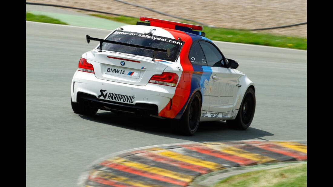 BMW 1er M Coupé, Heck