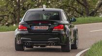 BMW 1er M Coupé, Heckansicht