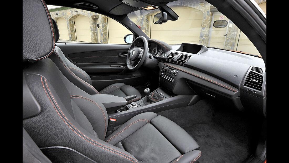 BMW 1er M Coupé, Innenraum, Cockpit