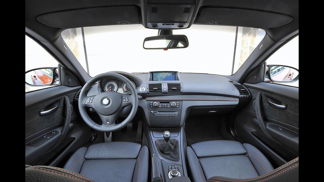 BMW 1er M Coupé, Innenraum, Cockpit, Lenkrad