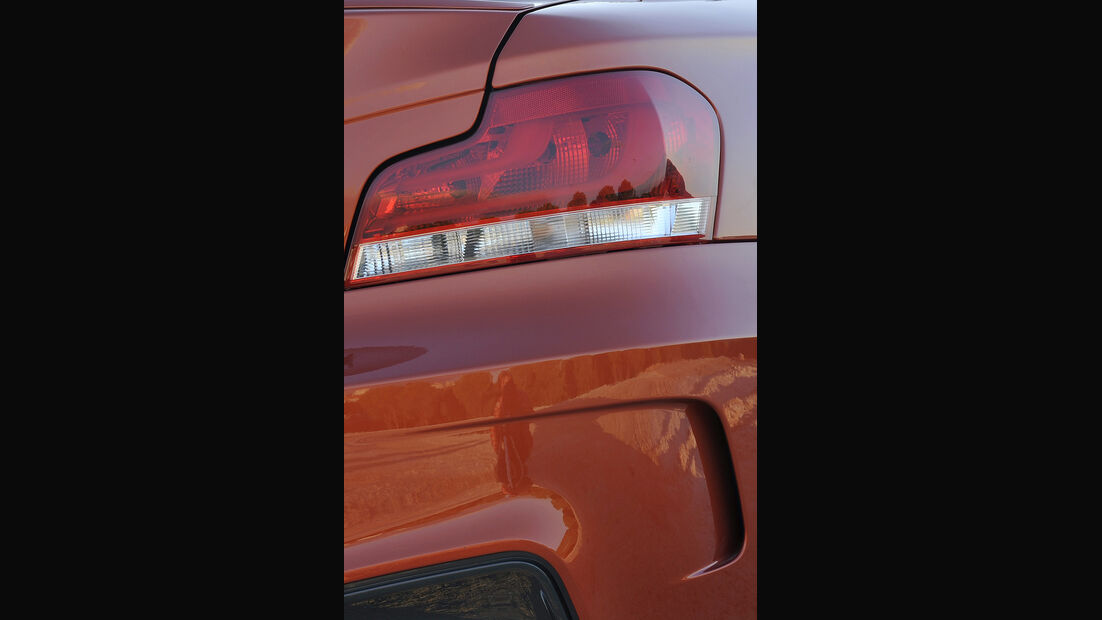 BMW 1er M Coupé, Luftauslass, Rückleuchte