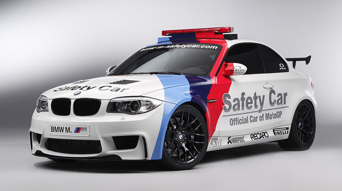 BMW 1er M Coupé MotoGP Safety Car