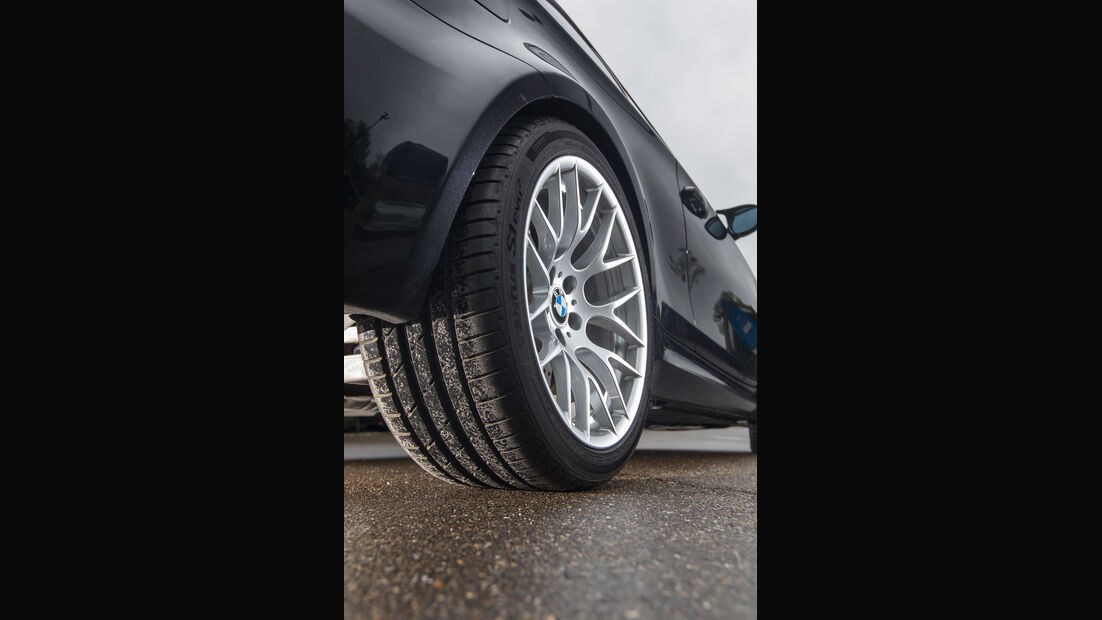 BMW 1er M Coupé, Rad, Felge